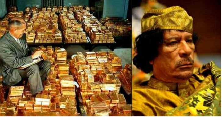 NATO Killed Gaddafi to Stop Libyan Creation of Gold-Backed Currency