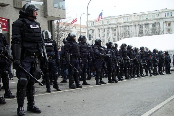 Police State Building in America: The New Normal
