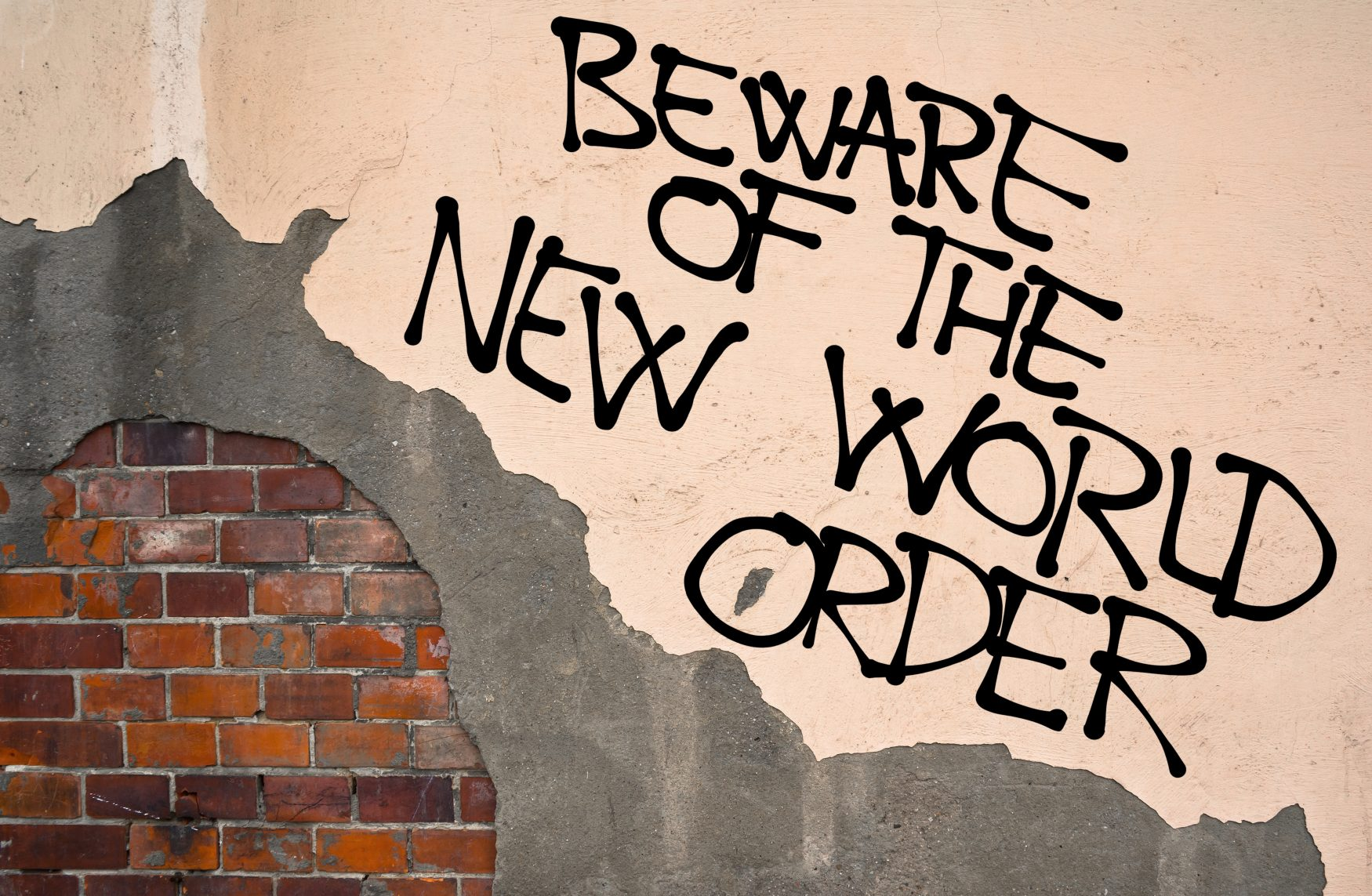 A New World Order Means Slavery