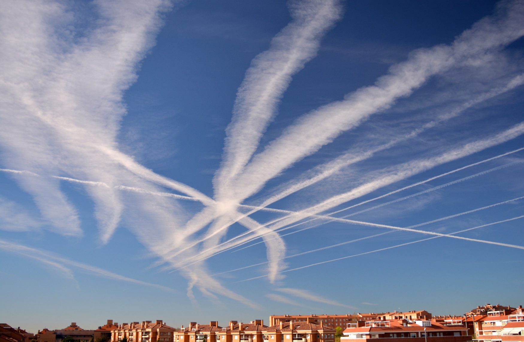 The Story About Chemtrails